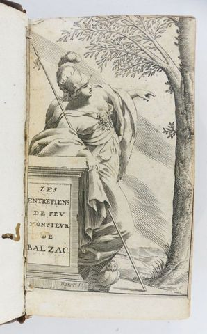 GUEZ de BALZAC (Jean Louis). Les entretiens de Monsieur de Balzac...