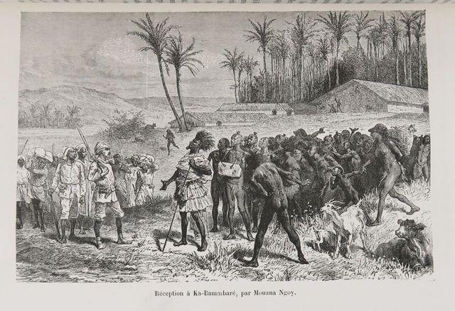 Afrique - STANLEY (Henry Morton). A travers le Continent Mystérie...