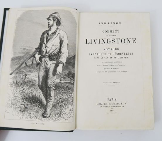 Afrique - STANLEY (Henry Morton). Comment j'ai retrouvé Livingsto...