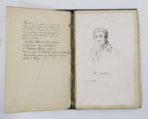 Manuscrit - ANDRIEUX (François-Guillaume). [Lettres à Onésime Ler...