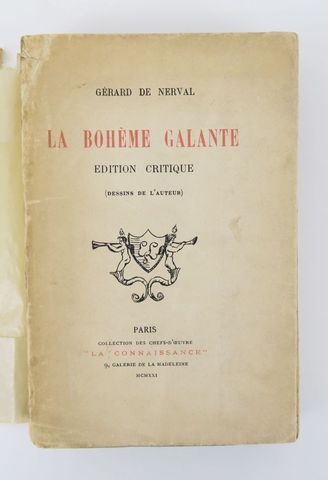 NERVAL (Gérard de). La Bohême galante. Édition critique. (Dessins...
