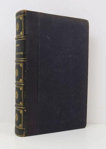 SIMON (Jules). Le Devoir. Paris, Hachette et Cie, 1854. In-8 demi...