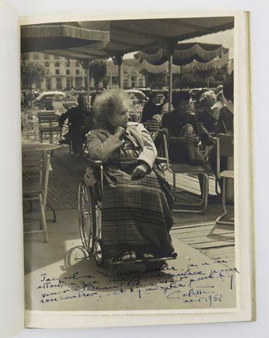 COLETTE. [Cahier] Colette. XXXIX. Mai 1951. Souillac et Mulhouse,...