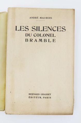 MAUROIS (André). Les Silences du colonel Bramble. Paris, Grasset,...