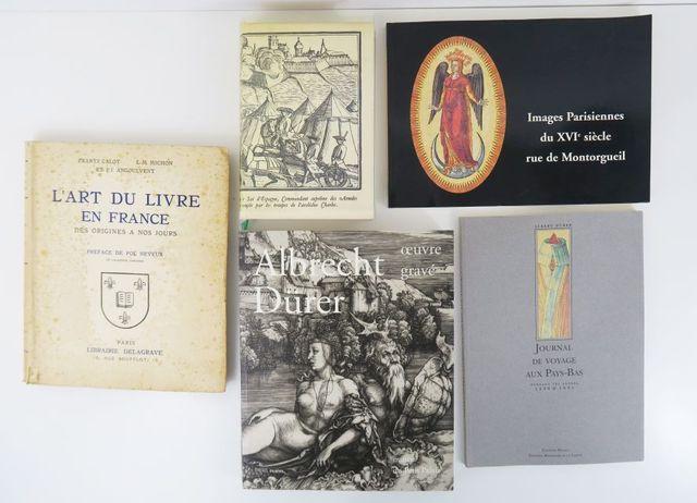 CALOT (Frantz), MICHON (L.-M.) & ANGOULVENT (P.J.). L'Art du Livr...