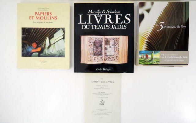 MERCIER (Alain). Les trois révolutions du livre. Paris, Imprimeri...