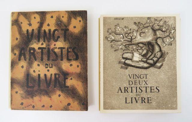 MORNAND (Pierre) & THOMÉ (J. R.). Vingt artistes du livre avec un...
