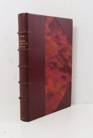 PLAN (Pierre-Paul). Bibliographie rabelaisienne. Les Éditions de ...