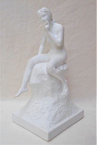 Joe DESCOMPS (1869-1950) pour Théodore HAVILAND FRANCE Femme assi...
