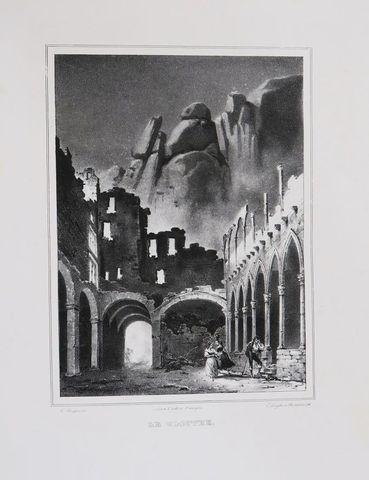 Album de gravures. Album de 87 planches. Sans lieu, [vers 1850]. ...