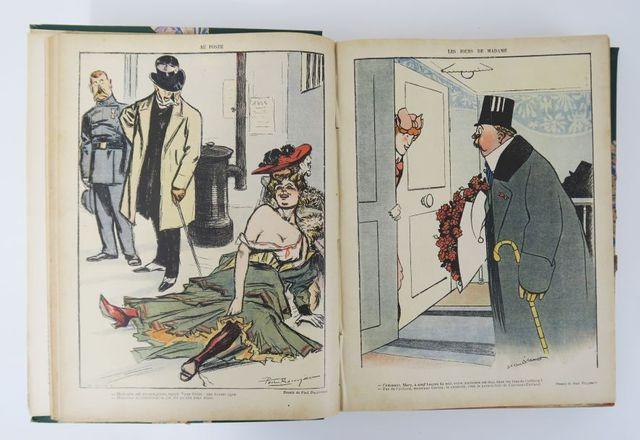 Le Rire. Journal humoristique. [Douzième année.] 1905-1906. Du n°...