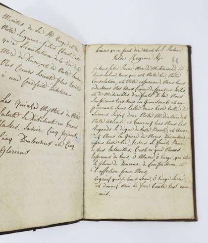 [Manuscrit - Dévotion]. Avantages du saint Rosaire et méthode pou...