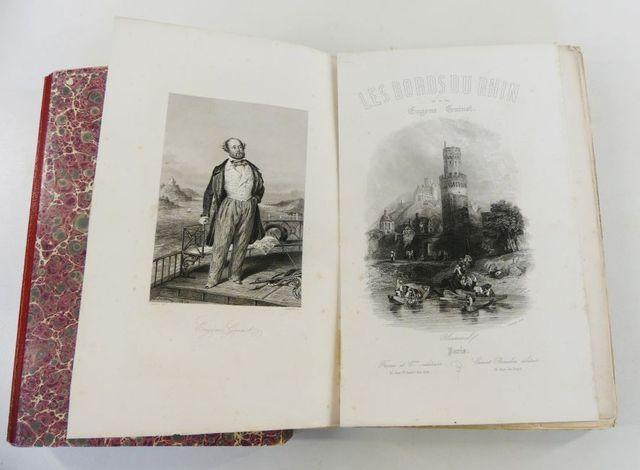 Allemagne - GUINOT (Eugène). Les Bords du Rhin. Paris, Furne et C...