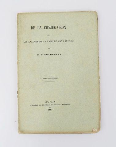 Amérique centrale - CHARENCEY (H. de). De la Conjugaison dans les...