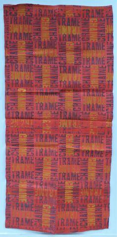 Jean MAZEAUFROID (1943) Chaîne et Trame Acrylique sur toile, sans...