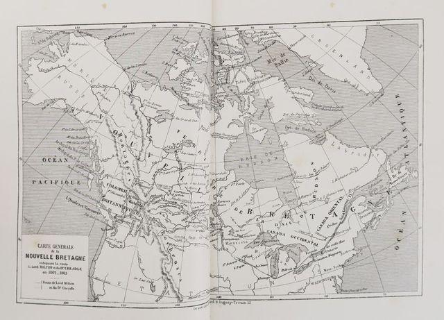 Amérique du Nord - MILTON (vicomte) & CHEADLE (Dr W.B.). Voyage d...