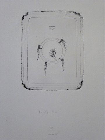 Philippe FAVIER (1957) Suite de trois lithographies en noir compr...