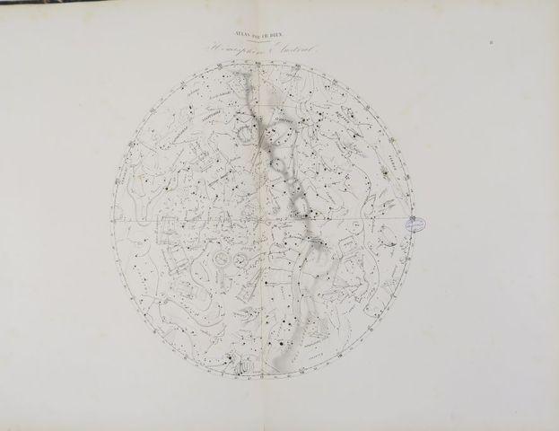 DIEN (Ch.). Atlas céleste comprenant toutes les cartes de l'ancie...