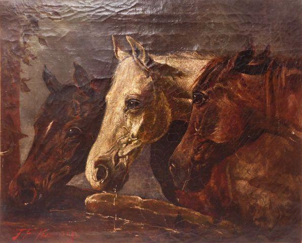 John Frederic HERRING Sr (1795-1865) ou John Frederic HERRING Jr ...