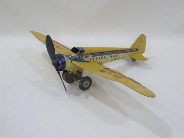 METTOY (Angleterre Circa 1950) Avion monoplan modèle « Super Skyl...