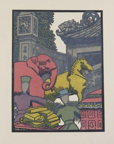 Asie - DEFERT (Emmanuel). Chersonèse d'Or. Indochine. Hanoi, 1925...