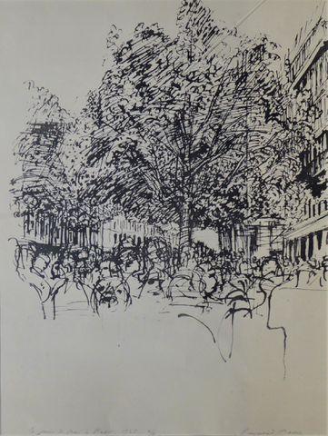 Raymond MASON (1922-2010) Le mois de Mai à Paris, 1968 Lithograph...
