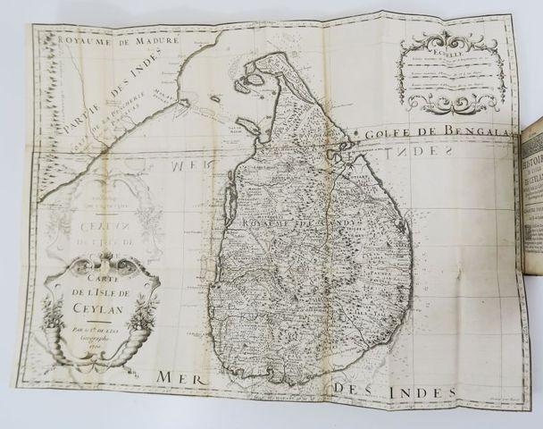 Asie - RIBEIRO (Joao). Histoire de l'isle de Ceylan. Paris, Boudo...