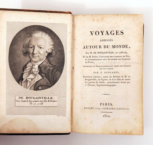 BOUGAINVILLE (Hyacinthe-Yves-Philippe-Potentien, baron de). Voyag...