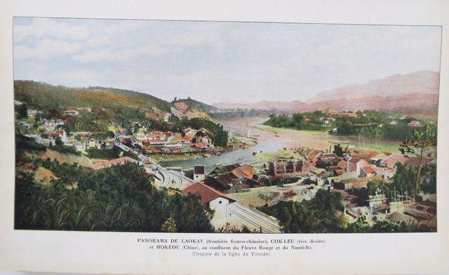 [Chine]. Le chemin de fer du Yunnan. Paris, G. Goury, avril 1910....