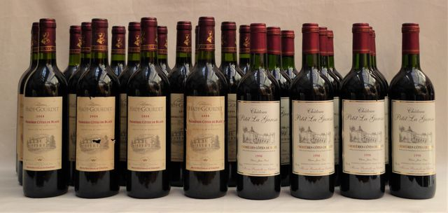 Premières Côtes de Blaye Château HAUT-GOURDET 2008 15 Bt Première...