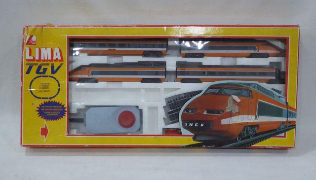 LIMA Coffret rame TGV réf. 104400 AF, dans sa boîte d'origine (Ra...