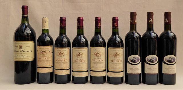 Premières Côtes de Bordeaux Château MAUTRET 1998 1 Magnum et 1 Bt...