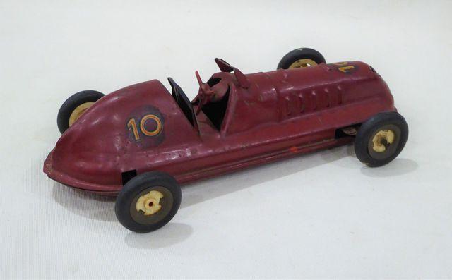 FRANCE JOUETS Marseille 1955 - voiture de course Maserati en tôle...