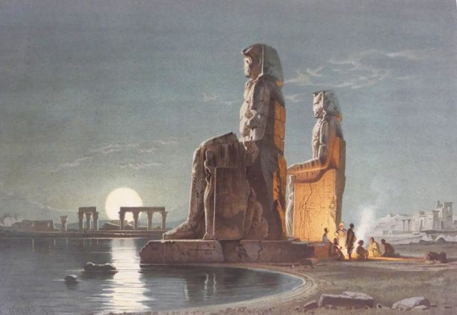 Égypte - WERNER (Charles), BREHM (A.E.) & DUMICHEN (J.). Le Nil. ...