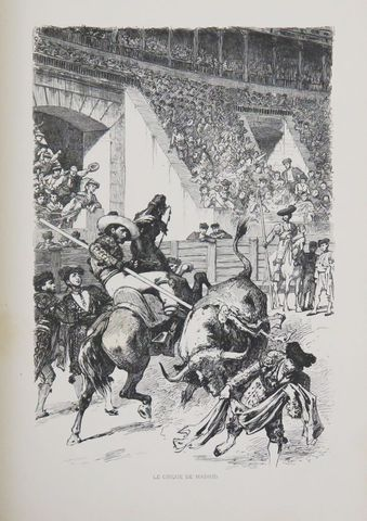Espagne - SIMONS (Théodore). L'Espagne. Orné de gravures et de pl...