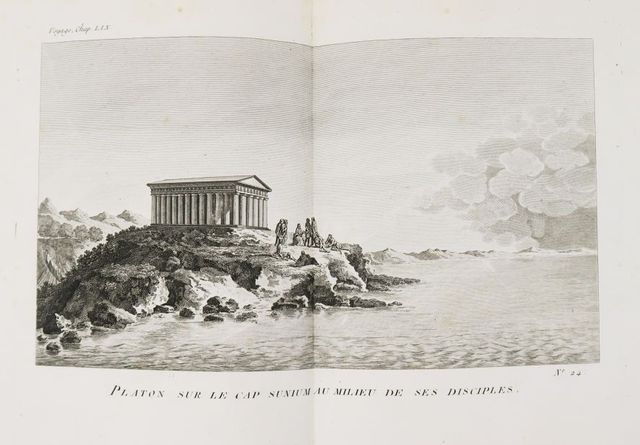 Grèce - BARTHÉLEMY (Abbé Jean-Jacques). Recueil de Cartes géograp...
