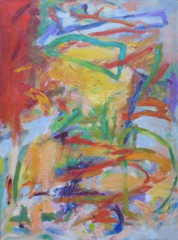 Marie LEPETIT (XXe - XXIe) Composition abstraite Huile sur toile,...
