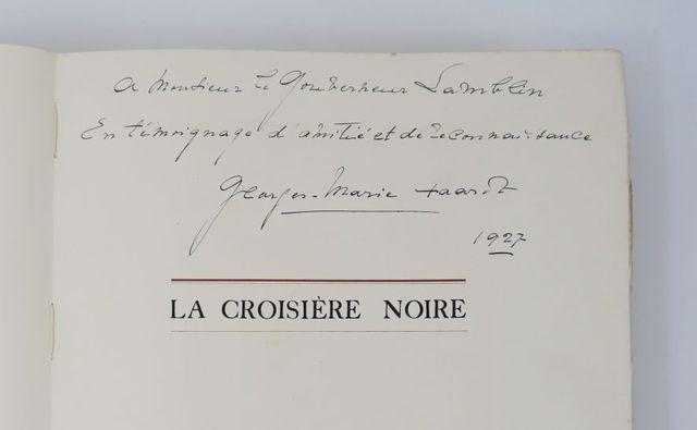 HAARDT (Georges-Marie) & AUDOUIN-DUBREUIL (Louis). La Croisière n...