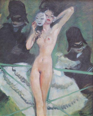 Jean Gabriel DOMERGUE (1889-1962) d'après Goyesca Procédé 56 x 45...