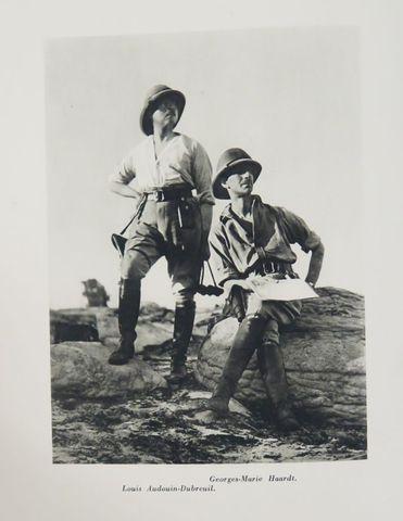HAARDT (Georges-Marie) & AUDOUIN-DUBREUIL (Louis). Le Raid Citroë...