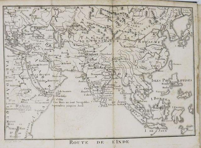 HENRY (P. F.). Route de l'Inde, ou description géographique de l'...