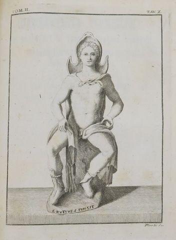 Italie - VERMIGLIOLI (Giambattista). Le Antiche iscrizioni Perugi...