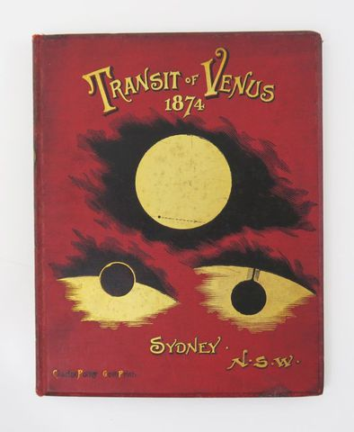RUSSELL (H.C.). Observations of the transit of Venus, 9 december ...