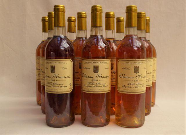 SAINTE-CROIX-DU-MONT Château MAUTRET 1995 (1 Bt), 1999 (12 Bt), 2...