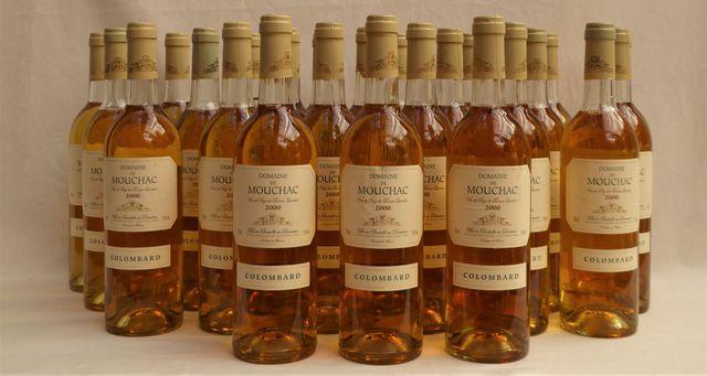 DOMAINE DE MOUCHAC Vin de Pays du Terroir Landais 2000 24 Bt