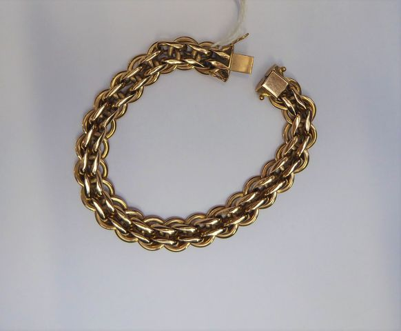 Bracelet or jaune Pds 31 grs