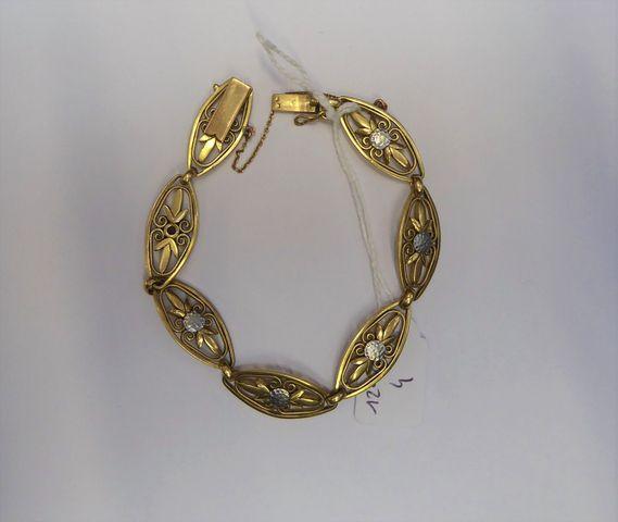 Bracelet or jaune Pds 24 grs