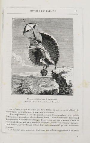 SIRCOS (A.) & PALLIER (Th.). Histoire des ballons et des ascensio...