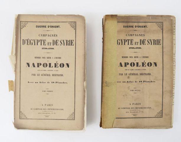 Moyen-Orient - NAPOLÉON (Bonaparte). Guerre d'Orient. Campagne d'...