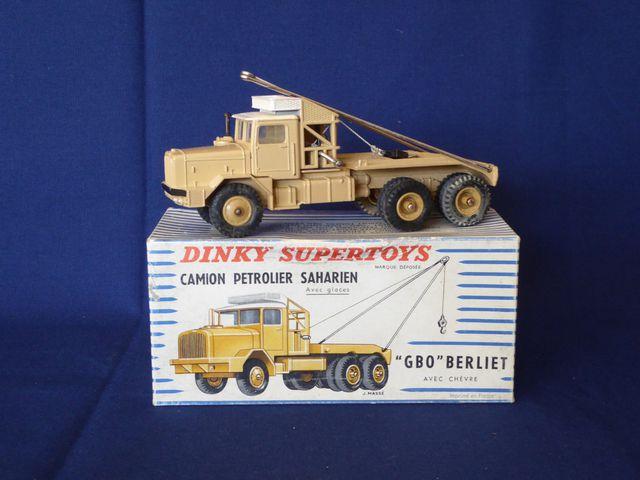 DINKY TOYS ENGLAND DINKY SUPERTOYS Camion pétrolier Saharien